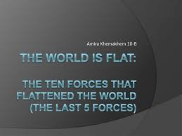the world is flat mini lesson the world is flat mini lesson amira khemakhem 10 b