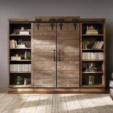 sliding barn doors on entertainment center surely i can build this right how hard could it be