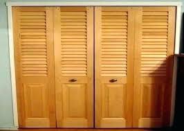 decoration hanging closet doors sliding wood door image folding installing over laminate flooring