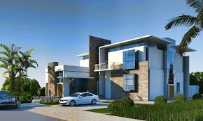 Space Concept Architecture Residential Modern Style Villa