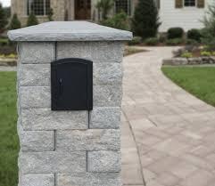 stone mailbox designs. Highland Stone® Mailbox Kit Stone Designs I