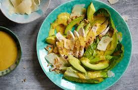 Chicken Caesar Salad With Avocado