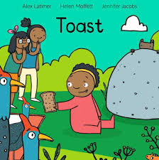 toast wordless book for young children cover