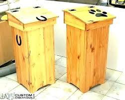 fancy trash can meme wooden outdoor garbage cans car bag kitchen cabinet design ideas best