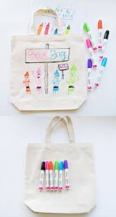 diy library book bag for kids get kids excited about reading by making their own