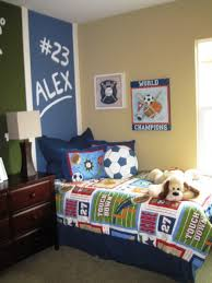 Bedroom: Kids Soccer Bedroom Decor - Kids Bedroom