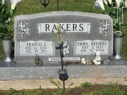 Emma Delores Fink Rakers (1932-2004) - Find A Grave Memorial