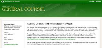 Uo General Counsel Stops Pleading The Fifth On Dearinger Resume