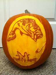 Fishing Pumpkin Carving Patterns