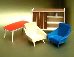 mid century modern dollhouse furniture. Mid Century Modern Dollhouse Furniture Set