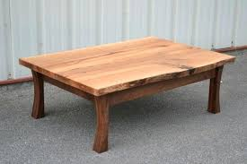 lovely curved coffee table white oak round