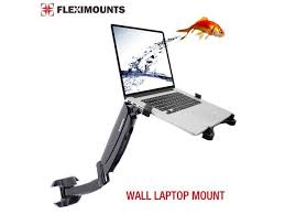 fleximounts 2 in 1 m10 full motion laptop wall mount lcd arm for most