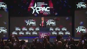 Former President Donald Trump speaks at ...