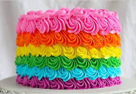 Rainbow Birthday Cake Or Cut Price Cupcakes Miworld Consultancy