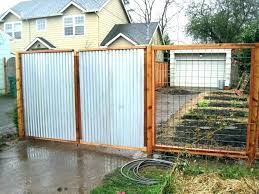 corrugated metal fencing privacy fence cost how much does a sheet panels for pan
