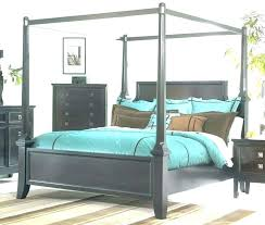 wood canopy bed king – mytravelblog.co