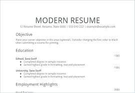 Modern Resume Format Enchanting Modern Resume Examples Inspirational Modern Resume Examples
