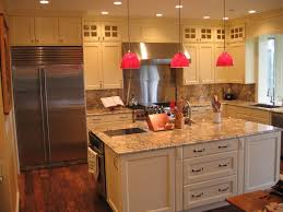 properly selected lighting will fill the kitchen with light visually expand the space and will increase the height of the ceilings