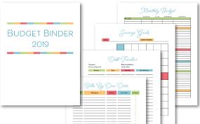 Free Printable Binder Templates Budget Binder Printable How To Organize Your Finances