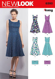 New Look Patterns Enchanting New Look 48 Misses Dresses And Purses Sew Essential