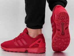 torsion zx flux. adidas originals zx flux triple red torsion mens running shoes sneakers s32278 zx