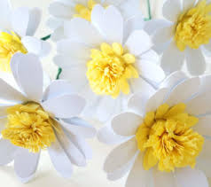 Daisy Paper Flower Paper Daisy Flower Collection Of The Best Handmade Diy