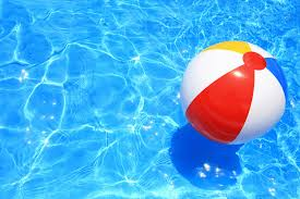 pool water with beach ball. Beach-ball Pool Water With Beach Ball When We Arive