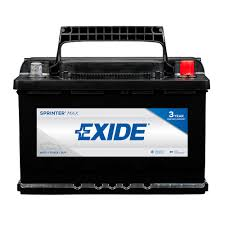 Exide Automotive Battery Application Chart Exide Sprinter 12 Volts Lead Acid 6 Cell H6 L3 48 Group Size 750 Cold Cranking Amps Bci Auto Battery