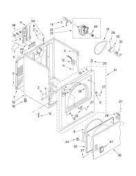 Whirlpool model wed5100vq1 residential dryer genuine parts wed5100vq1 does not heat up whirlpool dryer timer diagram