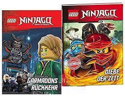 LEGO® Ninjago ™ Garmadons Return Book, Thieves of Time, Children's Book for  Beginners: Amazon.de: Spielzeug