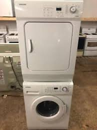 apartment size stackable washer dryer. Fine Dryer Samsung 24u201d Wide Apartment Size Stackable Washer And Dryer Matching Set On 0