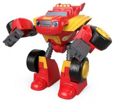 Nickelodeon Blaze And The Monster Machines Transforming Robot Rider