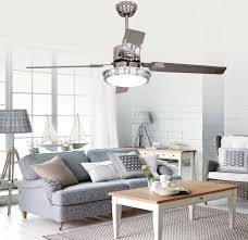 bedroom ceiling fans with remote control.  Control 48inch Remote Control Ceiling Fan Lights LED Bedroom Ceiling Lamp Light  Minimalism Modern Stainless Steel Bladesin Fans From Lights  Inside Bedroom With Remote Control V