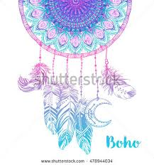 What Native American Tribes Use Dream Catchers Hand Drawn Native American Indian Talisman Stock Vector 100 47