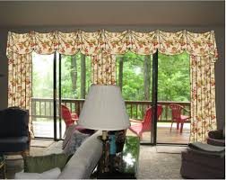 image of window treatment ideas for sliding glass doors