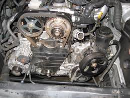 under the hood perfect timing timing belt service for photo 6 you need a puller to get the pulley off out moving the