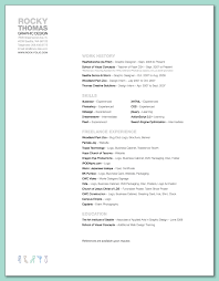Graphic Designer Resume Tips Clear Hierarchy And Good Typography Graphic Design Resume