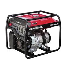 Honda 4000 Watt Gasoline Generator with GFCI Duplex Outlet