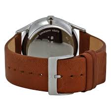 skagen holst charcoal dial brown leather strap men s watch skw6086 skagen holst charcoal dial brown leather strap men s watch skw6086