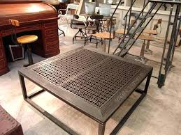 metal coffee tables image of french industrial style coffee table metal coffee table legs for