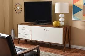 mid century modern tv stand of woods