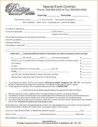 event agreement contract event contract agreement resume template