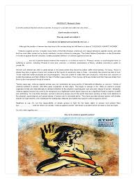 violence against women a research paper navneet misra