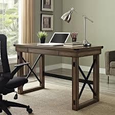 ameriwood home wildwood rustic writing desk