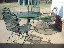 modern iron patio furniture. Good Metal Patio Table And Sage Round Modern Stained Ideas For . Iron Furniture E