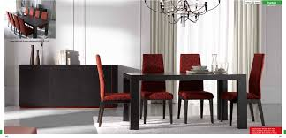 Modern Black Dining Room Sets - Modern wood dining room sets