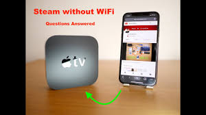 Q&A-Stream to Apple TV without WiFi - YouTube