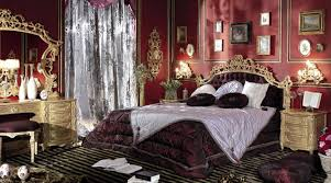 Bedroom In Italian Style Finished With Antique Gold Italian Bedroom  Furniture Sets Birmingham
