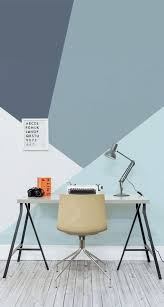 home office design quirky. Geometric Home Office Minimalist Interior Design - Quirky