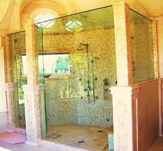charlevoix glass is your custom design shower company 1 2 clear tempered frameless